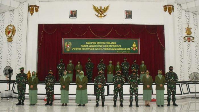 Mutasi TNI, Kapendam IV/Diponegoro Kolonel Kav Susanto Dimutasi ke Mabes AD