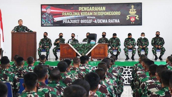 Pangdam IV Diponegoro Ingatkan Prajurit TNI Cegah Covid-19 dengan Konsumsi Obat Herbal