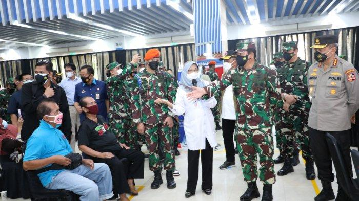 Kunjungi Kilang Pertamina Cilacap, Panglima TNI Apresiasi Pelaksanaan Vaksinasi Massal Covid-19