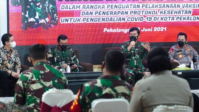 Panglima TNI Beri Jempol Tim Satgas Covid-19 Tangani Klaster SMAN 4 Kota Pekalongan