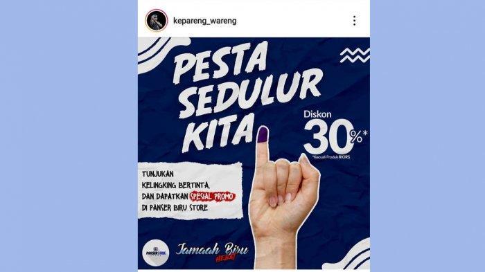 Pilwakot Semarang, Panser Biru Store Gelar Diskon Merchandise PSIS 30 Persen