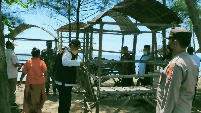 AKP Suryadi Pimpin Patroli ke Pantai Blendung Pemalang: Sering untuk Kegiatan Negatif