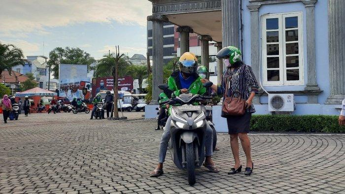 Hari Transportasi Umum Kota Semarang Pekan Ke-2, Amelia Lihat Jalanan Lebih Lengang