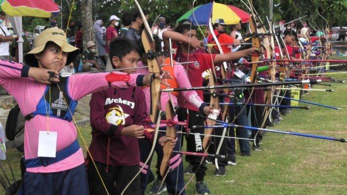 Ratusan Atlet Panahan Ikuti Kejurkab dan Open Turnamen di Banyumas