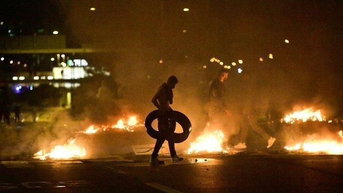 Demonstrasi Rusuh di Swedia Massa Bakar Alquran, Politikus Anti-Muslim Dilarang Hadir