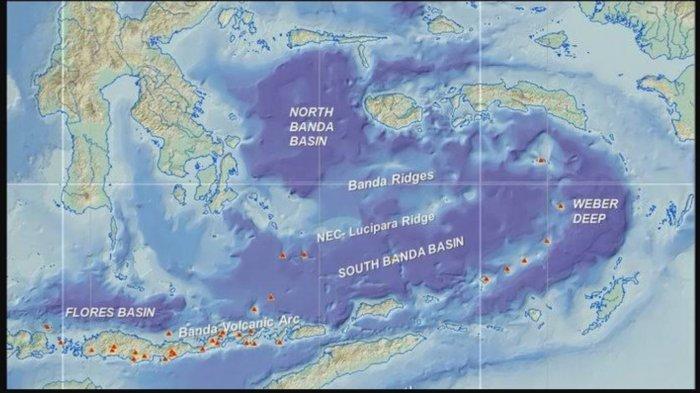 Para Ilmuwan Ungkap Inti Bumi di Bawah Laut Banda Indonesia Tumbuh Miring