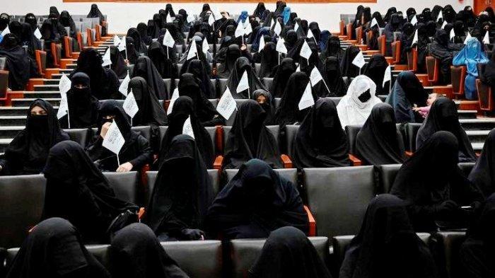 Tokoh Taliban Usulkan Semua Institusi Pemerintah Dilarang Pria dan Wanita Satu Atap