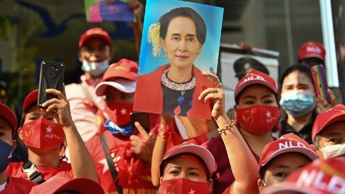 Junta Militer Myanmar Keluarkan Perintah Penangkapan 40 Selebriti yang Dukung Gerakan Antikudeta