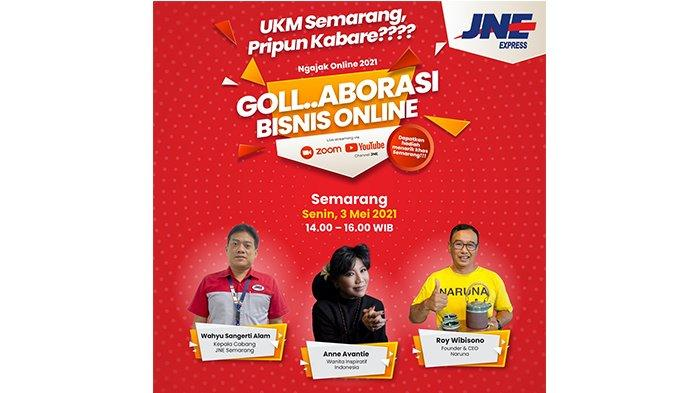 Ngajak Online dan Kirim Gratis di HUT Ke-474 Kota Semarang