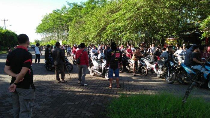 Hukuman untuk Ratusan Pebalap Liar di Mijen, Disuruh Tuntun Motor Sejauh 2 Kilometer