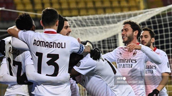 Hasil Liga Italia Benevento vs AC Milan, Rossoneri Tampil Meyakinkan Meski Hanya 10 Orang