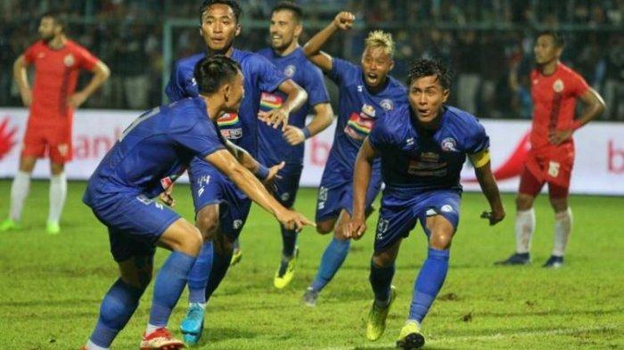 Prediksi Arema FC Vs Bhayangkara FC BRI Liga 1 2021, H2H, Susunan Pemain dan Link Live Streaming