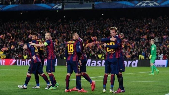 Hasil Liga Spanyol Tadi Malam, Barcelona LumatVillarreal dengan 4 Gol Tanpa Balas