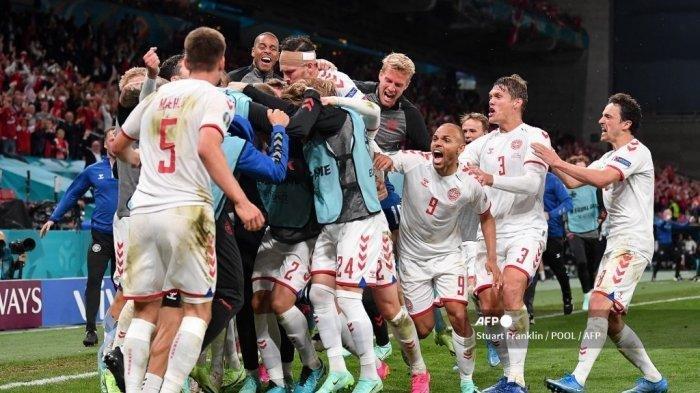 Klasemen Lengkap Euro 2021, Poin Pertama Langsung Antarkan Denmark ke Posisi Runner Up
