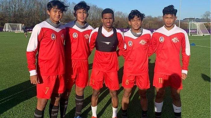 Hasil Akhir Skor 7-7 Garuda Select 3 Vs Leeds United U-18, Faiz Maulana Cetak Hattrick