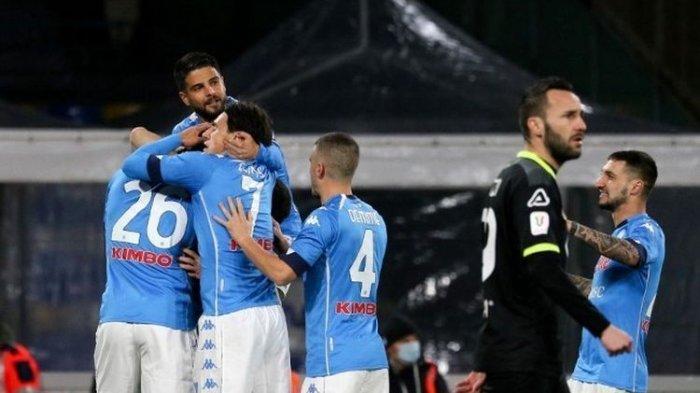 Hasil Lengkap Serie A Liga Italia, Napoli Menang AC Milang Tergusur dari Zona Champions