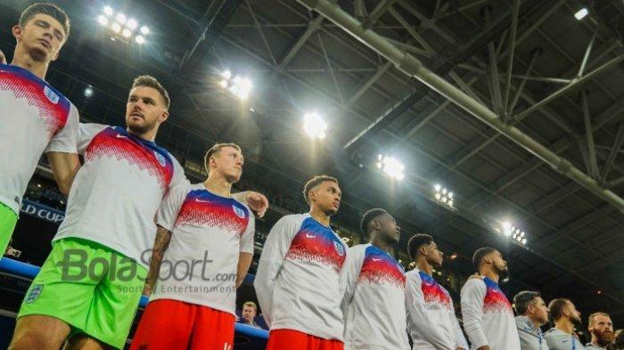 Inggris TurunkanSkuat Terbaik MenghadapiSwedia, Berikut Susunan Pemain Kedua Tim