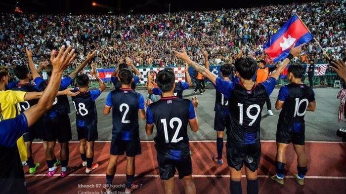 Kamboja Tak Berdaya, Kemasukan 24 Gol dari Iran pada Kualifikasi Piala Dunia 2022
