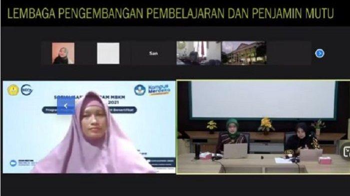 SSC Unsoed Purwokerto Sosialisasikan Program MBKM Micro Credential 2021