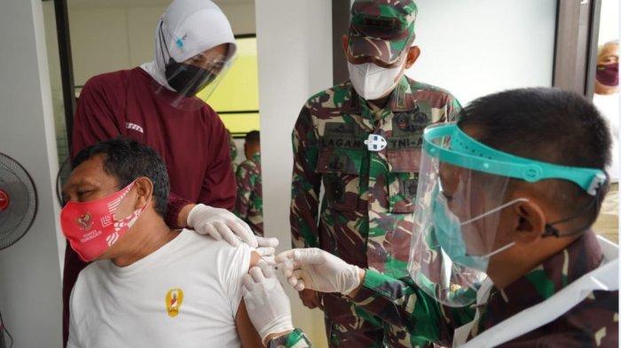 3.600 Prajurit Wijayakusuma Serentak Jalani Vaksinasi Covid-19