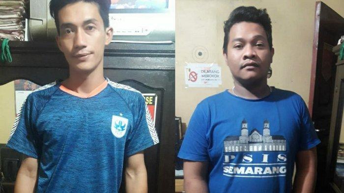 2 Pencuri HP Pakai Kaos PSIS Ditangkap Saat Nonton Sepakbola di Stadion Citarum Semarang