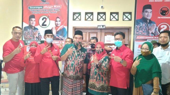 Unggul Dalam Hitung Cepat Pilkada Blora 2020, Ini Profil Pasangan Arief Rohman-Tri Yuli