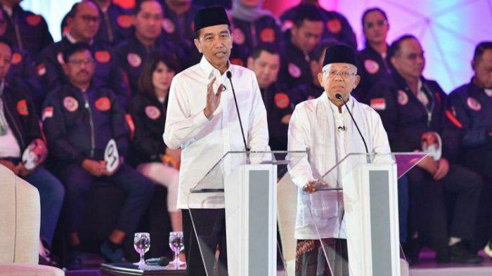 Survei Terbaru LSIDenny JA, Mayoritas Pemilih Kalangan 'Wong Cilik' Dukung Jokowi-Maruf Amin