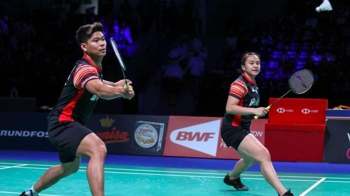 Hasil Bulu Tangkis Olimpiade TOkyo 2021, Praveen/Melati Tumbang Melawan Pasangan Nomor Satu Dunia