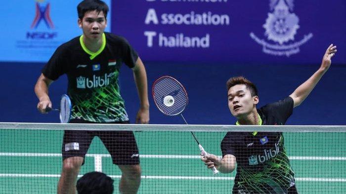 Sebentar Lagi Main Ini Link Live Streaming Thailand Open 2021 TVRI, Derbi Indonesia di Laga Perdana