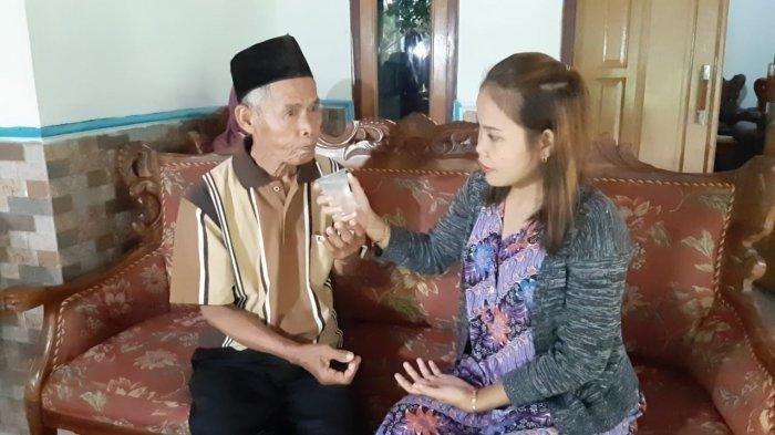 Kabar Terkini Pernikahan Beda Usia, Kakek Sarna Menalak Istri Muda: Noni Langsung Tak Nafsu Makan