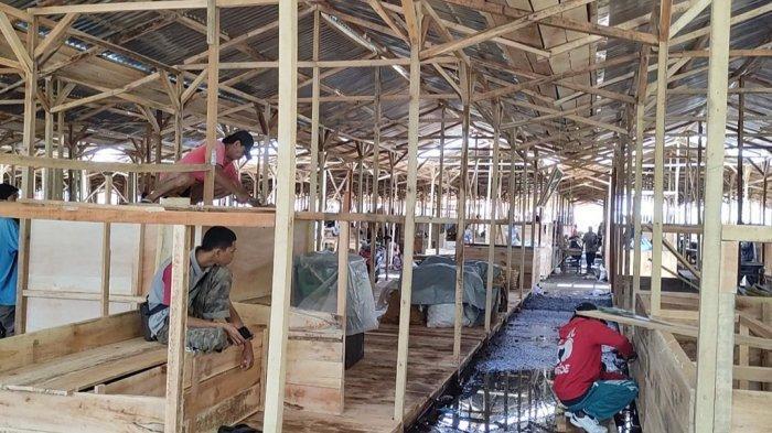 Korban Kebakaran Pasar Induk Banjarnegara Siap Tempati Lapak Darurat