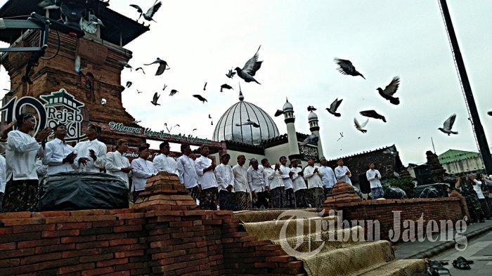 Pasar Kuliner Jadul Ramaikan Perayaan Ta'sis Masjid Menara Kudus