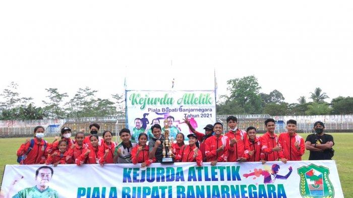 PASI Pati Raih Juara 2 Kejurda Atletik di Banjarnegara