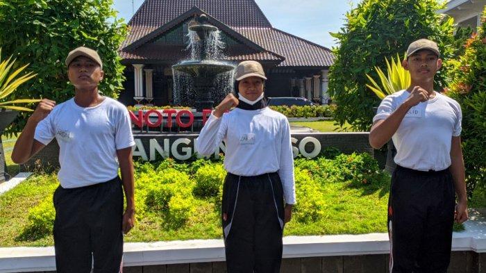 Berkenalan dengan Tiga Sosok Pengibar Bendera HUT Ke-76 RI di Kabupaten Pati