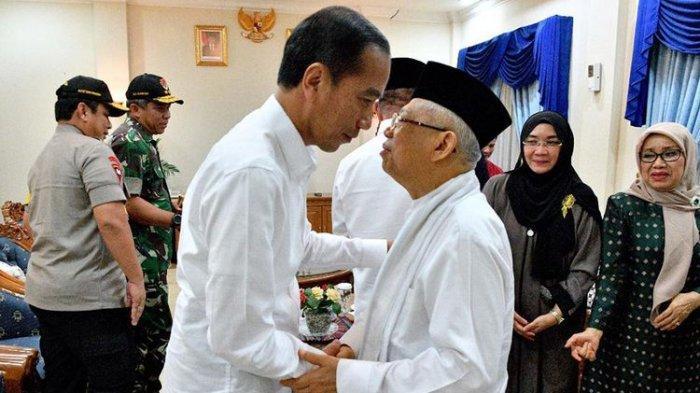 Berlaku Mulai Hari Ini, Jokowi-Ma'ruf Amin Sebagai Paslon Presiden-Wakil Presiden Terpilih 2019-2024