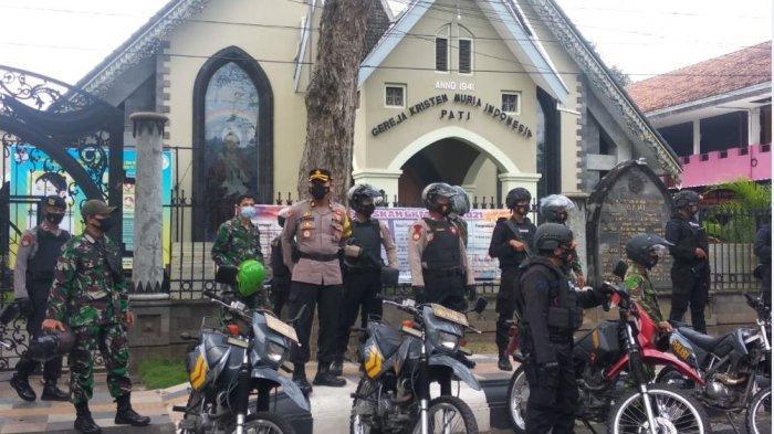 Respons Bom Makassar, Polres Pati Kerahkan Pasukan untuk Amankan Gereja-Gereja