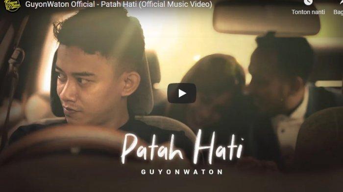 Chord Kunci Gitar Patah Hati Guyon Waton