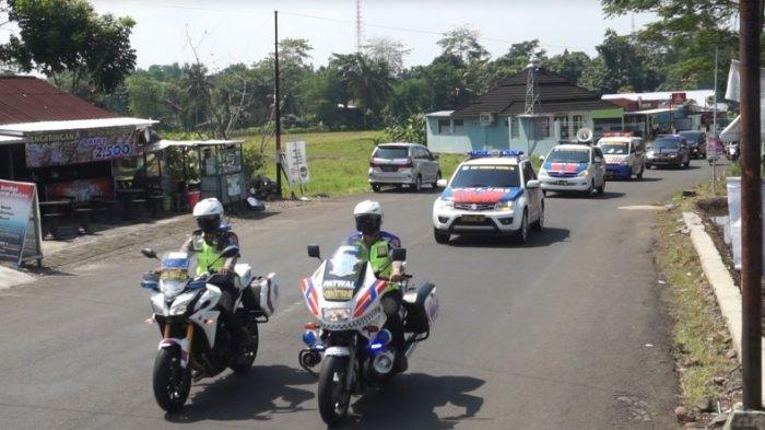Patroli Geden Polres Purbalingga, Sosialisasi PPKM Darurat