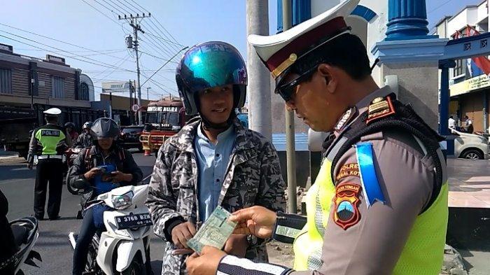 Pelanggar Lalu Lintas Tak Pakai Helm Terbanyak di Kota Tegal Selama Operasi Patuh 2019