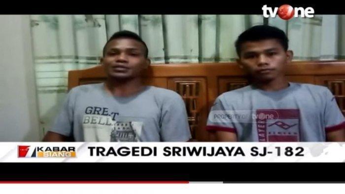 Paulus Kullo dan Indra Wibowo batal terbang dengan Sriwijaya Air SJ-182, begini ceritanya.