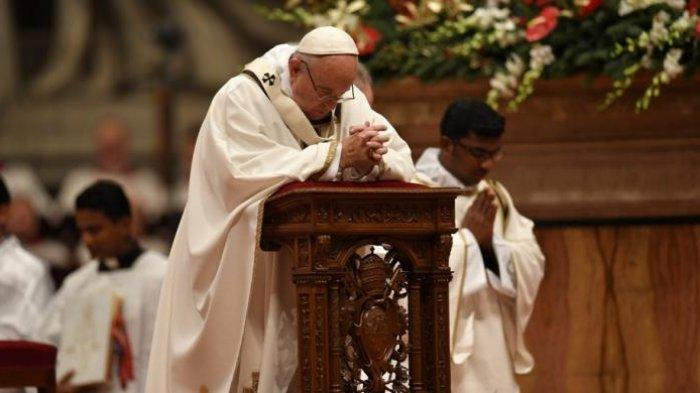 Paus Fransiskus Ajak Umat Kristen Seluruh Dunia Puasa Demi Perdamaian di Afghanistan