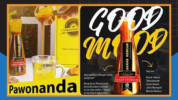 Sirup Jamu Premium PAWONANDA Tersedia Berbagai Varian