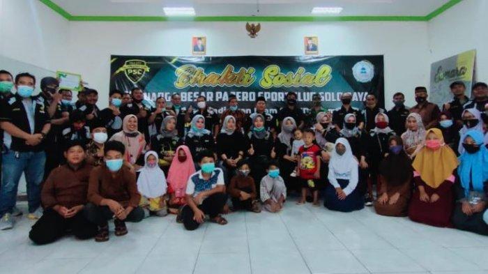 Bakti Sosial Dalam Rangka Ulang Tahun ke-3 PSC Solo Raya di Yayasan Pendidikan Islam SYAHDA