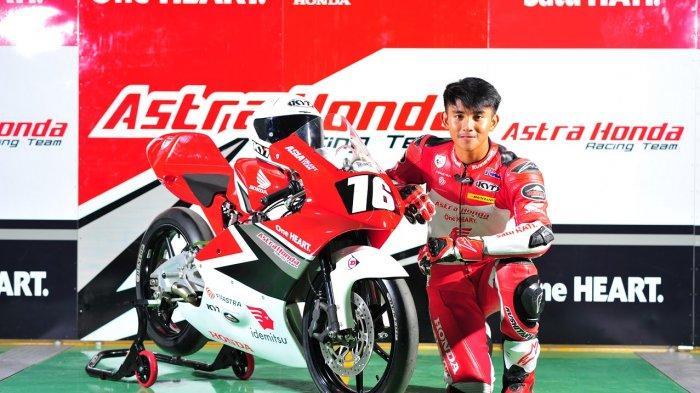 Inilah Sosok Mario Suryo Aji Pebalap Indonesia Cetak Sejarah Raih Pole Position dalam Gelaran CEV