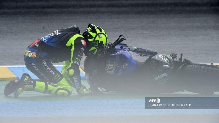 Hasil MotoGP Spanyol 2021, Valentino Rossi Gagal Podium Lagi, Duo Ducati Asapi Morbidelli