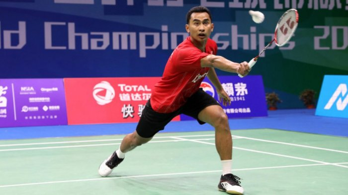 Tommy Sugiarto Lolos ke Babak KeduaFuzhou China Open 2018 Setelah KalahkanWong Wing