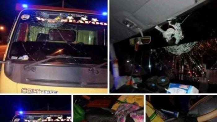 Polisi Selidiki Truk Kena Lempar Batu di Jalan Sultan Agung, Kapolsek Gajahmungkur: Kami Selidiki