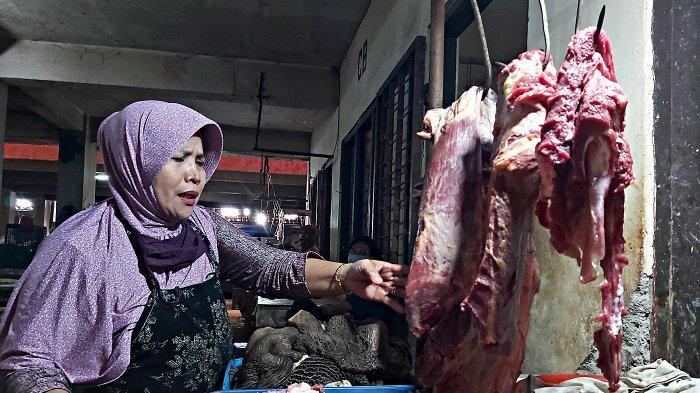 H-3 Idul Fitri di Kota Tegal, Harga Daging Sapi Rp 125 Ribu per Kg.