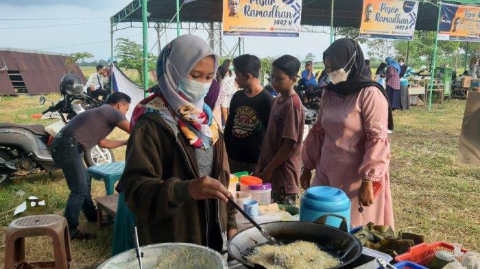 Pasar Ramadhan di Megawon Kudus, Bangkitkan Ekonomi Warga pada Masa Pandemi