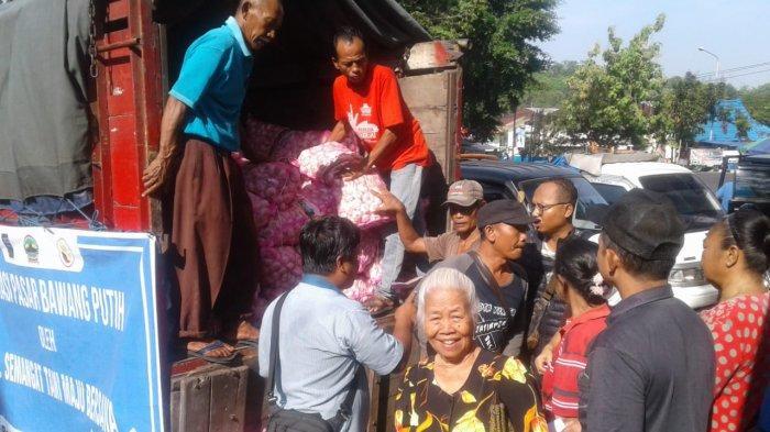 Dinas Perdagangan Kota Semarang Lakukan Operasi Pasar, Kirim Bawang Putih ke Pasar Tradisional
